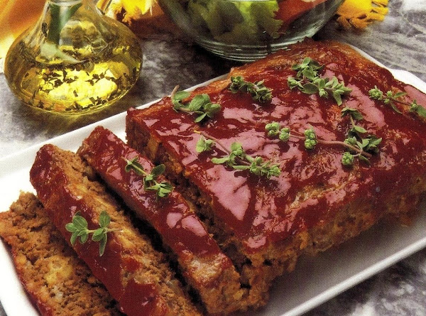 Cottage Meat Loaf (microwave Version) Recipe