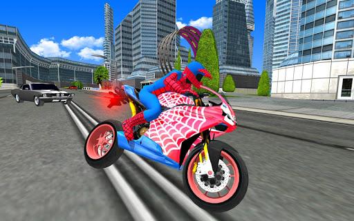 Bike Super Hero Stunt Driver Racing 1.0 screenshots 9