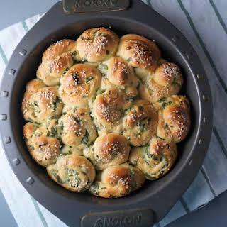 Scallion Milk Bread Rolls.