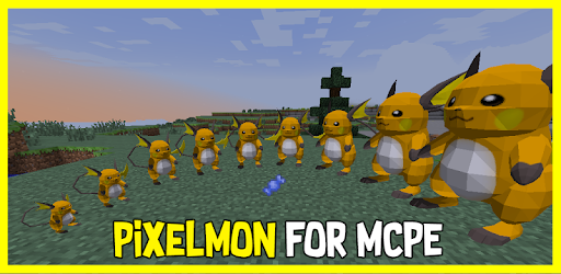 Pixelmon Mod Battle MCPE for PC