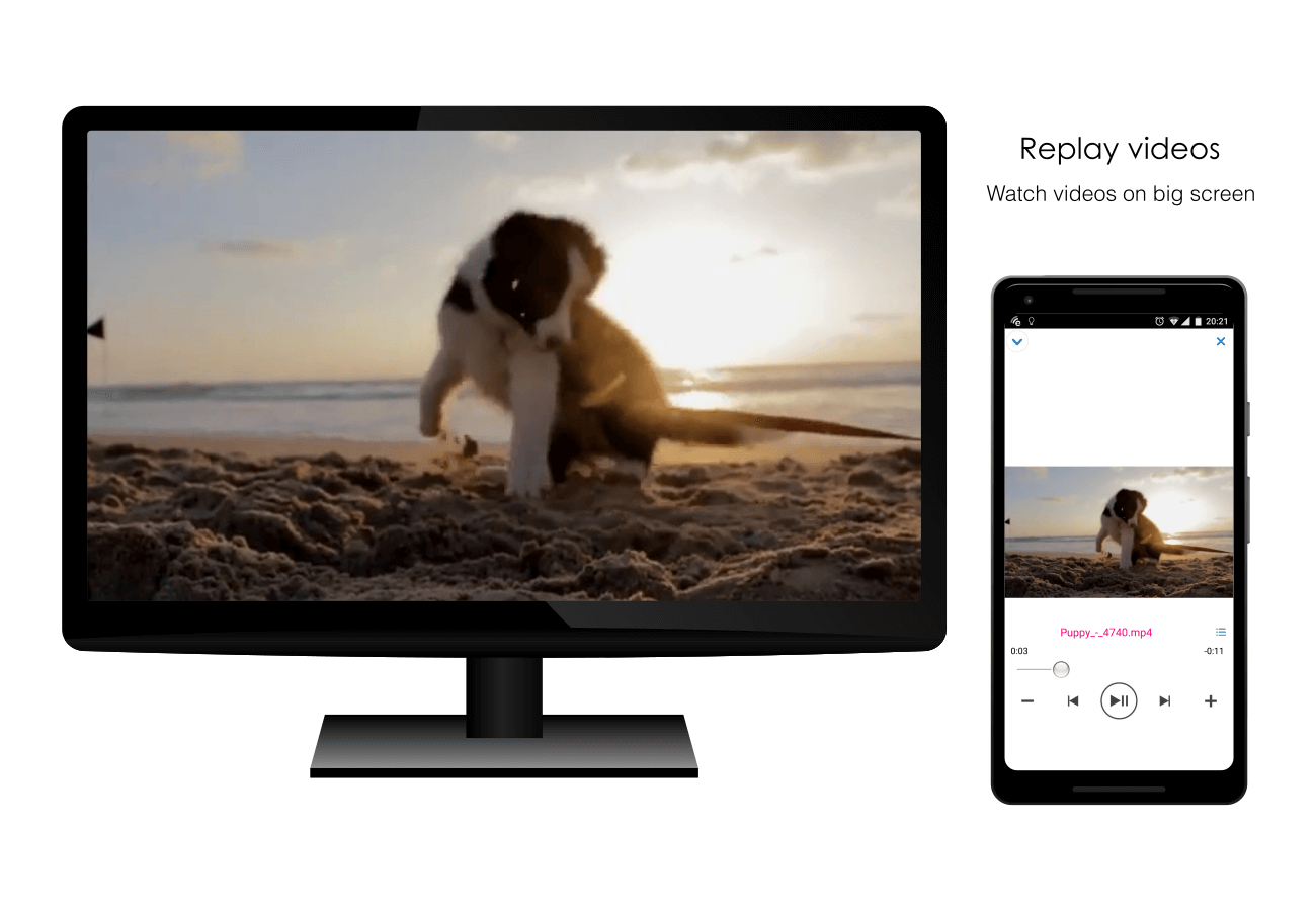EZCast – Cast Media to TV- screenshot
