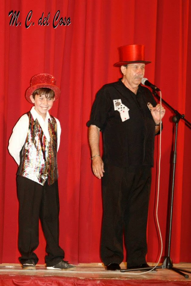 Montty presentador gala magia Cebreros