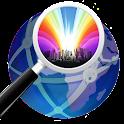 Latitude Longitude GPS Full icon