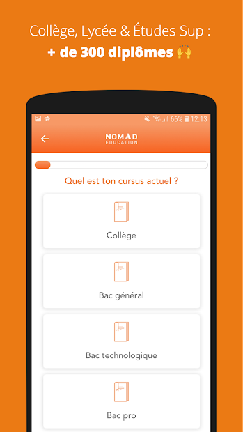 Brevet, Bac, Sup 2019 Android App Screenshot