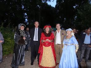 Photo: Roland, Pascal Blanc, Marie France et Pierre Antoine avec Nicole
