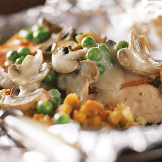 Foil-Pack Chicken & Mushrooms