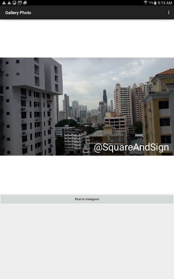 Square And Sign for Instagram- screenshot