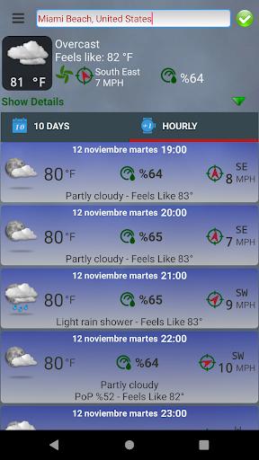 Turkey's Weather Cirrostratus screenshots 5