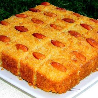 Semolina Coconut Cake [Vegan] Recipe