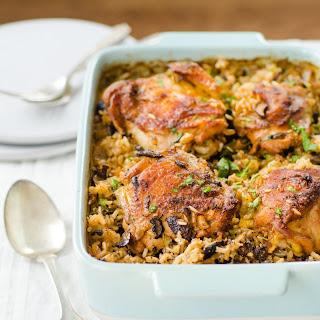 Chicken and Wild Rice Bake.