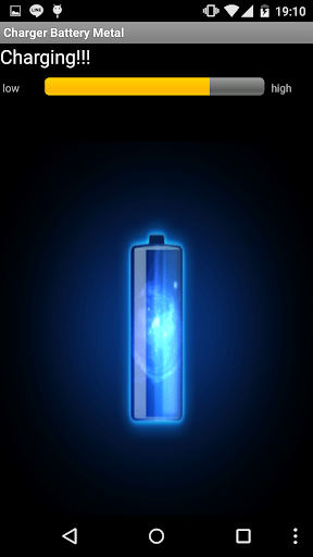 RECHARGE BATTERY - Joke app (apk) free download for Android/PC/Windows screenshot