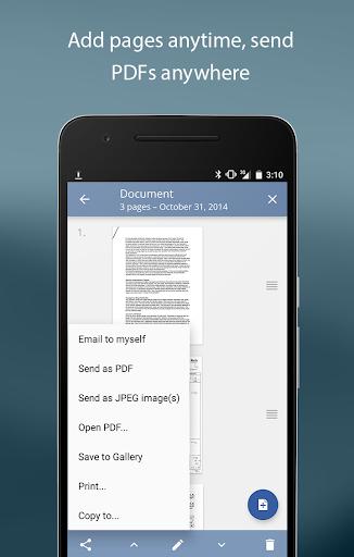 TurboScan: scan documents & receipts in PDF 1.5.1 screenshots 5