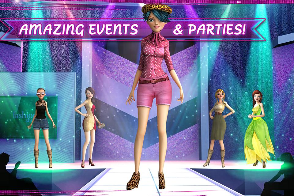 Free barbie fashion show dress up games