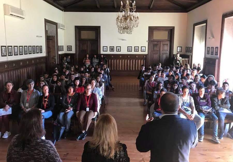 Jovens da Semana Erasmus recebidos na Câmara de Lamego