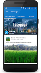 Facepage screenshot 3