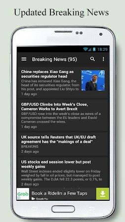 Forex News Anchor 2.4 screenshot 2090865