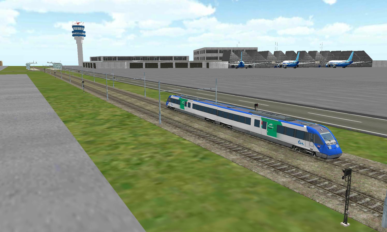 Train Sim- screenshot