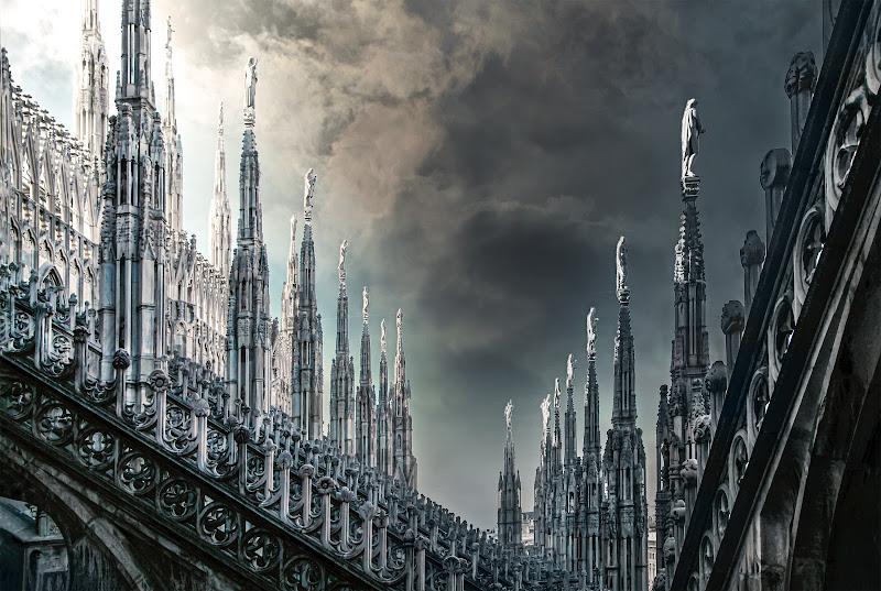 Le guglie del Duomo di Milano di davide_giovanni_volpi