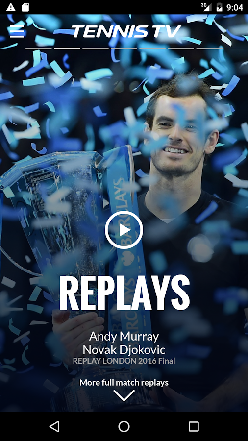 Tennis TV - Live ATP Streaming- screenshot