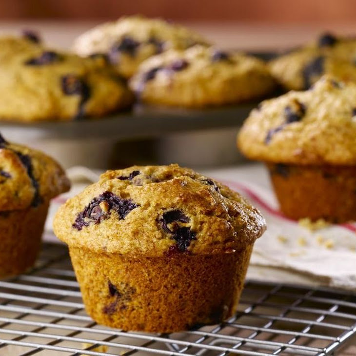 Low-Fat Blueberry Muffins