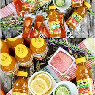Apple Mango & Cherry Lemonade Ice Pops.