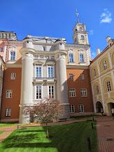 Photo: The courtyards at Vilnius University