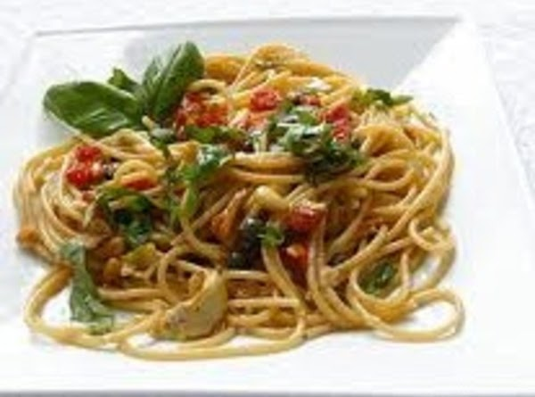 Pasta With Avocado And Tomatoes Recipe