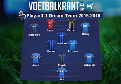 Dit is ons team van de play-offs