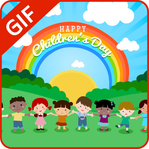 Children's Day GIF Collection