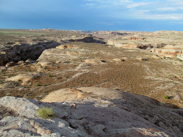View northeast from Mono Butte