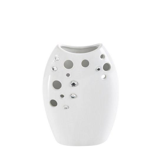 Ażurowy wazon ceramiczny Algo eurofirany