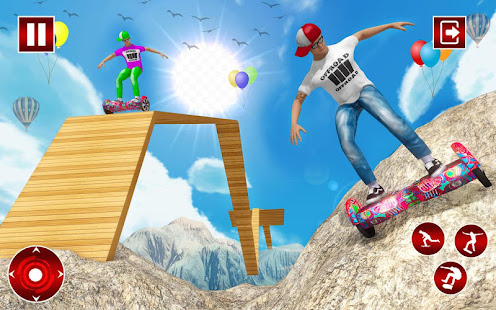 Off Road Hoverboard Stunts for PC-Windows 7,8,10 and Mac apk screenshot 5
