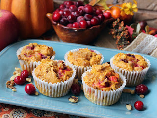 Cranberry Pumpkin Muffins Recipe