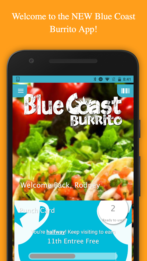 Blue Coast Burrito- screenshot