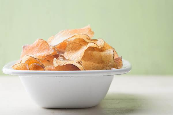 Potato Chips Made In The Microwave Recipe