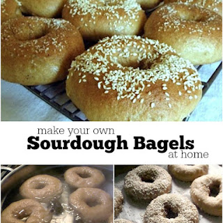 Easy Sourdough Bagels