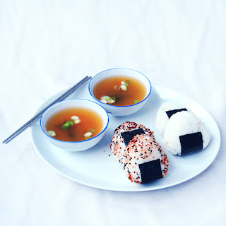 Onigiri With Sweet Potato & Shiitake Filling