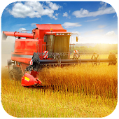Wheat combine harvester Jigsaw