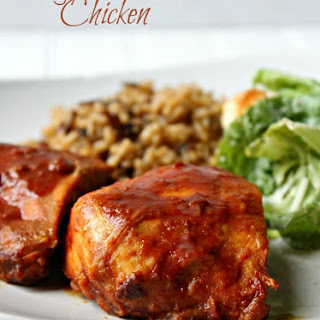 Slow Cooker Tangy Mustard Chicken.