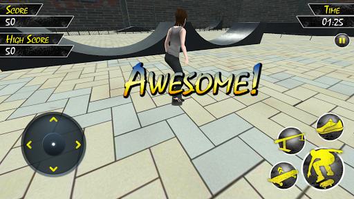 Skater 3D Stunt 1.1 screenshots 2