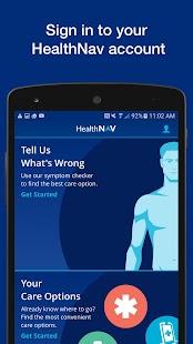 HealthNav - náhled