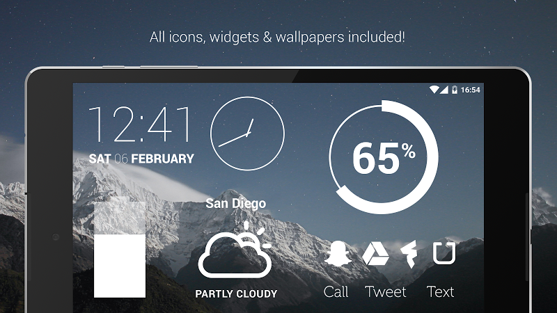 Flight - Flat Minimalist Icons (Pro Version) Screenshot 9