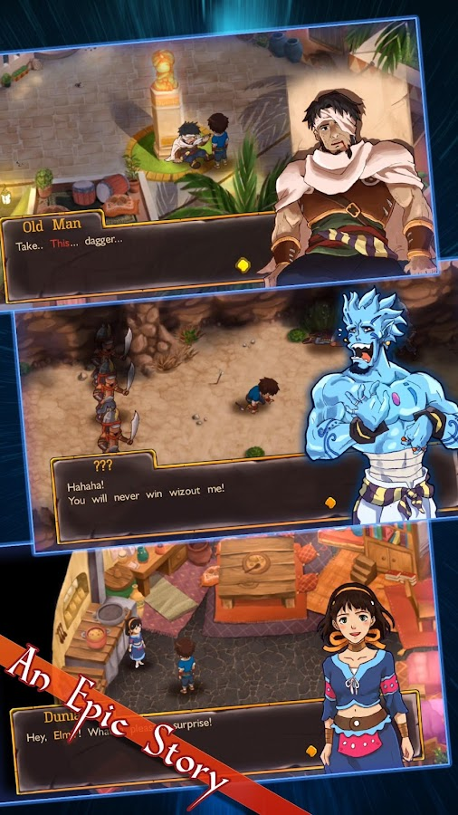 RPG Djinn Caster- screenshot
