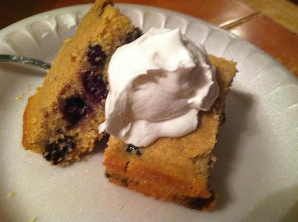 Blueberry Cornbread Recipe