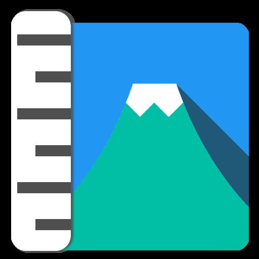 標高ワカール -山登り・防災のための海抜測定 工具 LOGO-玩APPs