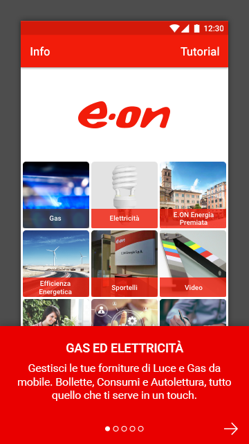 E.ON Energia Mobile- screenshot