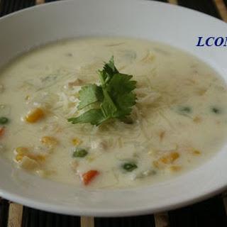 Cream Cheese Chicken Soup.