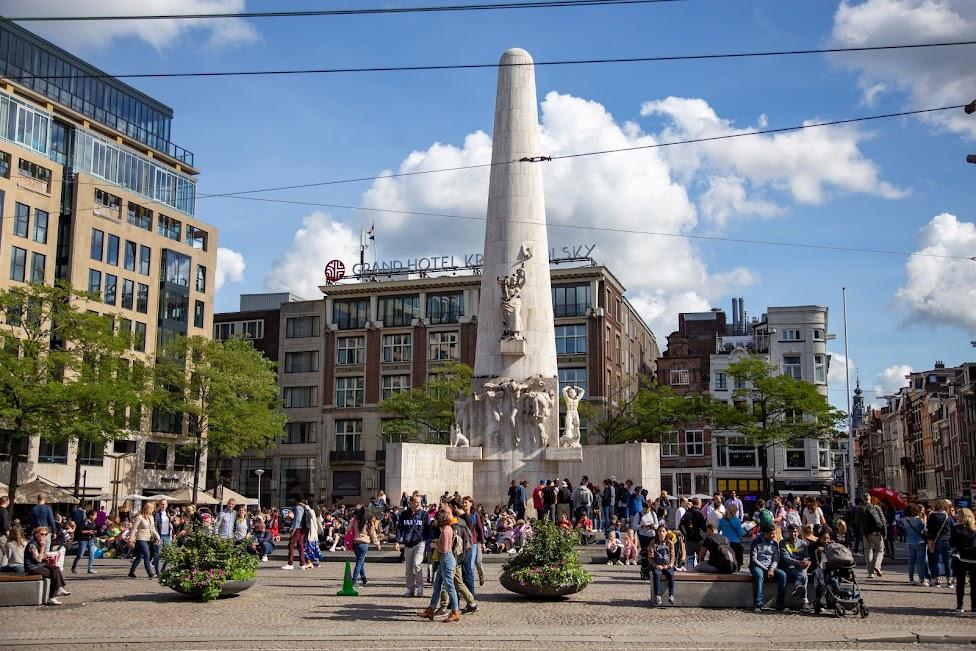 Amsterdam, Pomnik Pamięci Narodowej, National Monument