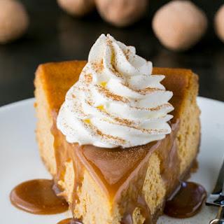 Pumpkin Cheesecake.