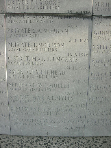 Thomas Morison grave